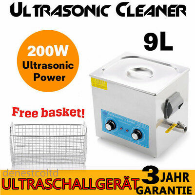 9L ULTRASCHALLGERÄT ULTRASCHALLREINIGER Ultrasonic Cleaner Ultraschall Machine