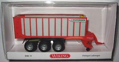 Wiking Pöttinger Ladewagen Jumbo 7210-0381 39-1:87