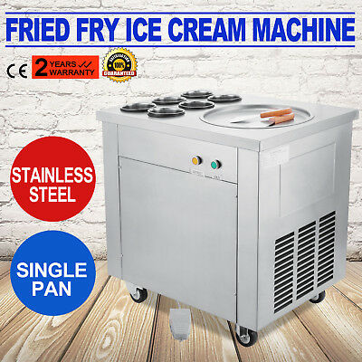Thai Fried Ice Cream Machine & Roll Ice Cream Making Machine