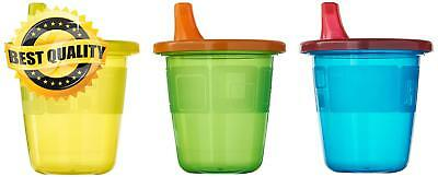 The First Years Take & Toss Spill-Proof Sippy Drink Cups - 7 Oz 6 Pack NEW