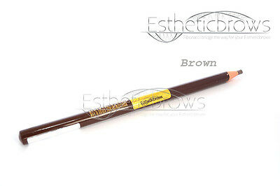 Microblading Permanent Eyebrow Pen Profi Brown Kosmetik