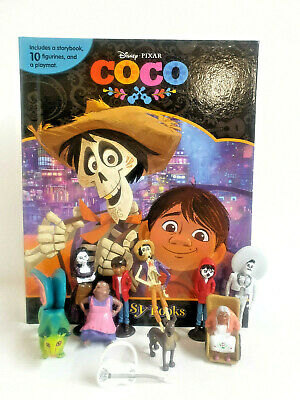 Disneys Coco My Busy Book & Map Plus 12 Figures