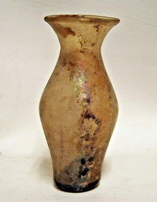 Ancient Roman Glass Vessel Vase 1st - 3rd Century A.D.