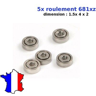 Roulement à Billes Miniature 1,5x4x2mm 681XZZ 1.5*4*2 mm W68/1.5ZZ
