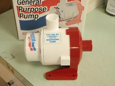 New Rule 3700 GPH General Purpose End Suction Centrifugal Pump 24V