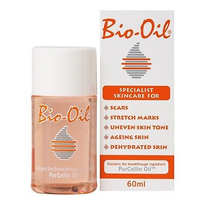 Bio Oil PurCellin Oil 60ml Skincare for Stretch Mark Scar Uneven Skin Tone F. S.