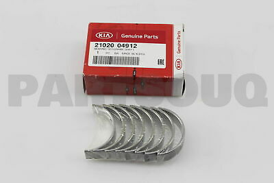 Genuine Hyundai 21020-3C200 Crankshaft Bearing Set Pair