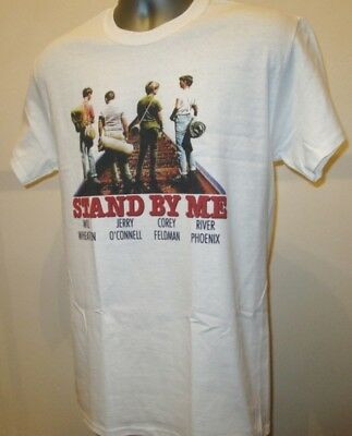 Stand By Me 1980s Comedy Film T Shirt River Phoenix W400 Goonies Princess Bride