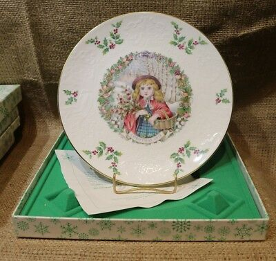 77,78,79,80,81, Royal Doulton Christmas Plate, New in Box