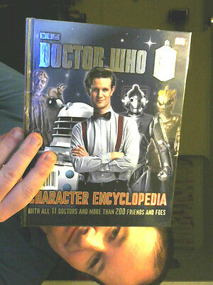 Doctor Who Character Encyclopedia  Hardback Treat Your...elf At Markp1667