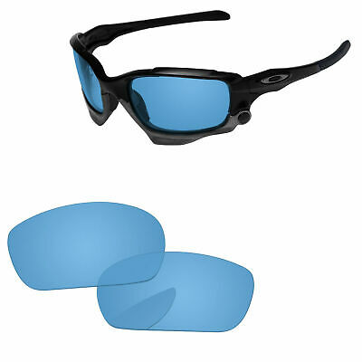 9c95610856 PapaViva Polarized Replacement Lenses For-Oakley Jawbone Sunglass -Crystal  Blue