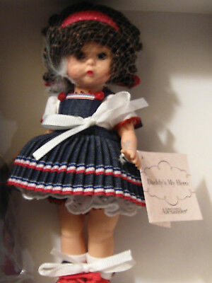 "Madame Alexander Doll WOW! Never Taken Out Of BOX! ""Daddy's My Hero"" 8""  RARE"