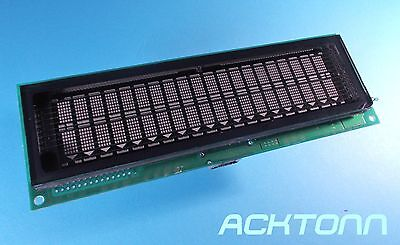 FUTABA Vacuum Fluorescent Display (VFD) Module M202MD08A : 1P00A288-01 REV.D