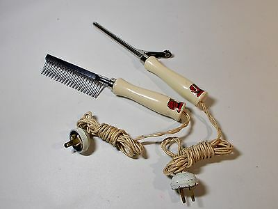 Collectable Vintage Russell Elactric Health Beauty Hair Care Accessories