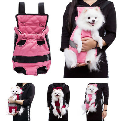 Pet Carrier Dog Sling Backpack Cat Puppy Comfort Travel Tote