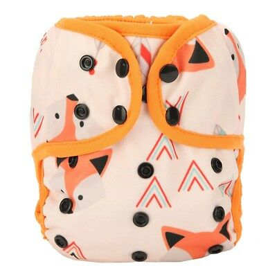 Baby Diaper Cover Nappy Cover Double Gussets Reusable One Size Native Fox