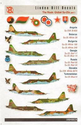 Linden Hill 1/48 decal LHD48024 The Rook Global Su-25s Pt 1 Angola Belarus