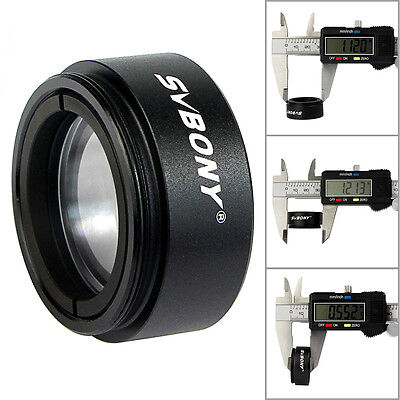 "New SVBONY 1.25"" 0.5X Focal Reducer Thread  M28x0.6 for Telescope Eyepiece as"
