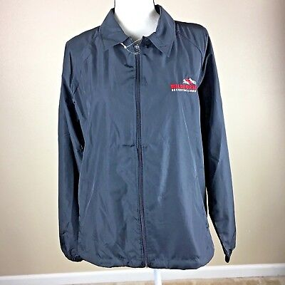 NEW wildhorse RESORT CASINO Windbreaker Jacket Ladies XL black North End Zip-up