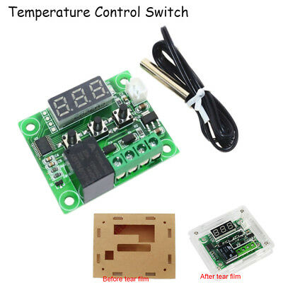 W1209DC 12V Heat Cool Temp Thermostat Temperature Switch Controller High Quality
