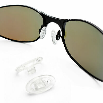 PapaViva Clear Replacement Nose Piece For-Oakley Probation/ Inmate Sunglass