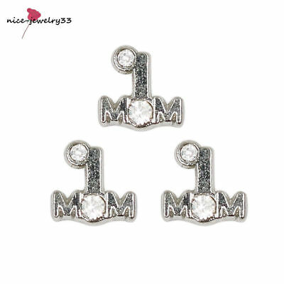 10pcs A Floating charms For Glass memory Locket Free shipping FC1522