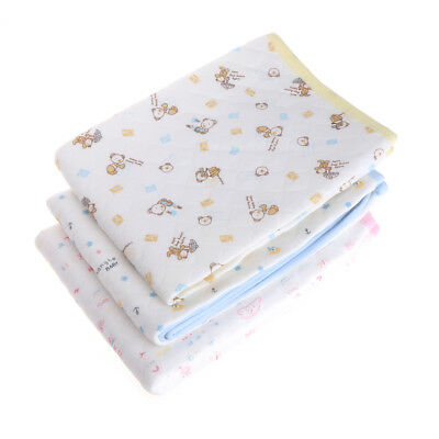 Baby Infant Diaper Nappy Urine Mat Waterproof Bedding Changing Cover Pad 50*70cm