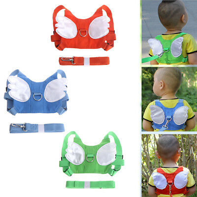 Children Toddler Anti-lost Harness Leash Backpack Baby Walking Safety Kid Keeper