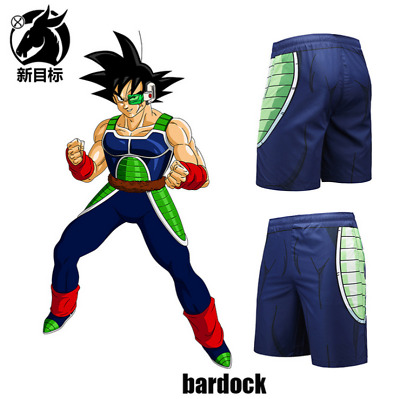 Summer Casual Beach shorts Anime Dragon Ball Burdock 3D Print swimming trunks