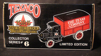TEXACO 1925 Mack Bulldog Truck ERTL Die-Cast Coin Bank NEW in Box 1989 Issue