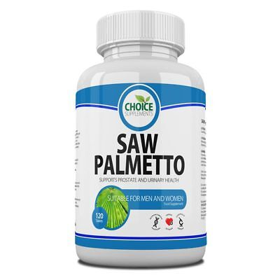 Saw Palmetto 3000mg TabletsUrinary Tract and Prostate Support Reduce Hair Loss