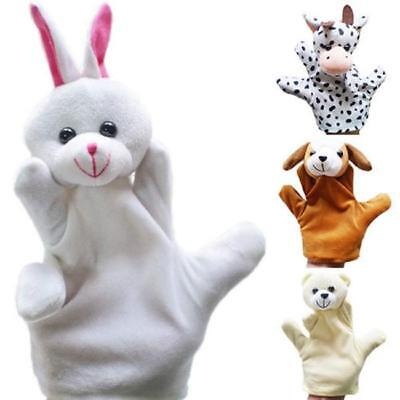 Cute Cartoon Animal Doll Kids Glove Hand Puppet Soft Plush Toys Story Telling D