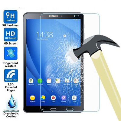 """Genuine Tempered Glass Screen Protector For Samsung Galaxy Tab A6 10.1"""" 7""""A 9.7"""""""