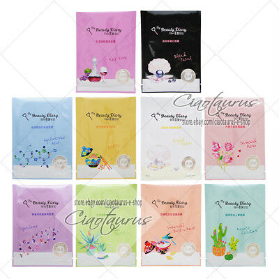 BUY 5 GET 1 FREE [MY BEAUTY DIARY] Natural Key Series Facial Mask 1pc