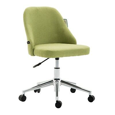CTF   Fabric Swivel Chair Computer Desk Office Chair with Chrome Base, 3 Colours