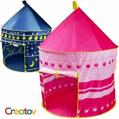 Princess Castle PlayTent Indoor/Outdoor Portable Kids Play Tent for Girls Pink
