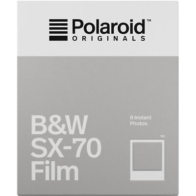 Polaroid Originals Black & White Instant Film for Polaroid SX-70 Cameras 4677