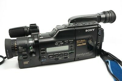 Sony Handycam CCD-V701 8mm with Accessories *AS - IS*