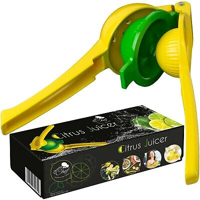 Hand Held Citrus Juicer  Manual Lemon Lime Press Squeezer by Chuzy Chef