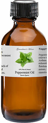 Peppermint (Supreme) Essential Oil - 4 oz - 100% Pure and Natural