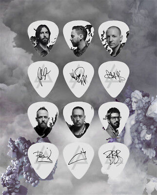 Linkin Park Chester Mike Bard Rob Han Phoenix Music Collection Guitar Pick