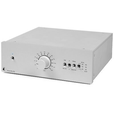 PRO-JECT PHONO BOX RS MM/MC Phono Preamplifier Silver