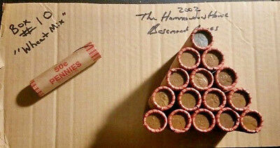 Unsearched Penny Rolls - Wheat Pennies - Indian Head Cents - Sealed Rolls Look!