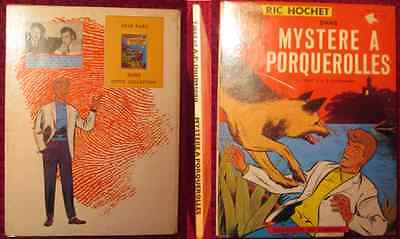 Ric Hochet Eo 1964 Mystere A Porquerolles Collection Edition Du Lombard Dargaud