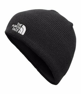 THE NORTH FACE BONES BEANIE HAT TNF BLACK LINING NWT 100% Authentic