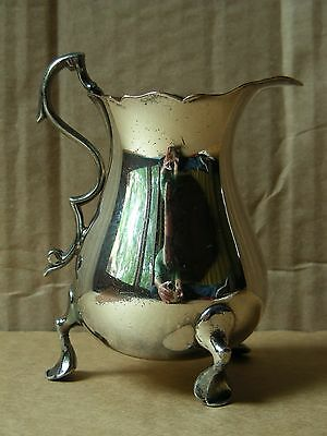 Lawrence B. Smith Co. Sheffield Silver Plated Footed Creamer