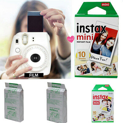 10Pcs For Fujifilm Instax Mini 8 9 50 70 90 Camera Fuji Color Film Photo Sheet