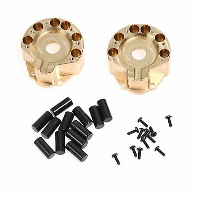 Wheels Heavy Brass Counterweights for Traxxas TRX-4 Right/Left Portal Axle 1/10
