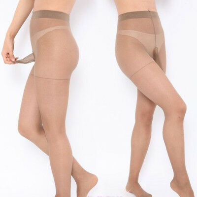 Sexy Mens Pantyhose Lingerie Pouch Sheer Stockings Ultra-thin Tights Underwear Q
