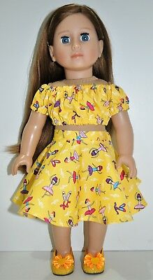18 Inch Doll Friend for American Girl Doll Our Generation Journey Girl Dressed